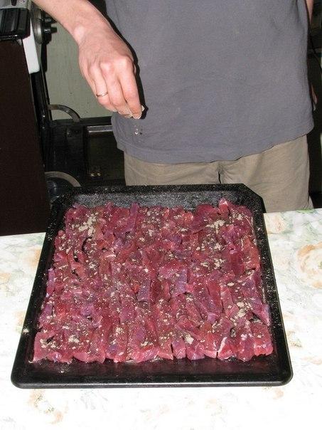 Как приготовить сушеное мясо - замену сублиматов