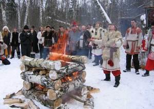 11 февраля - Великий Велесов день - середина зимы.