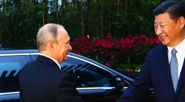 США обеспокоены тем, что Россия и Китай пошли на сближение против Америки