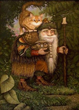Спутник Велеса — Кот (Кошка)
