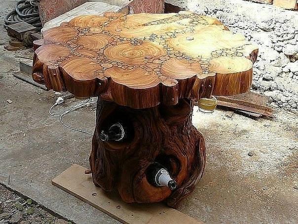Идеи для дачи из дерева своими руками