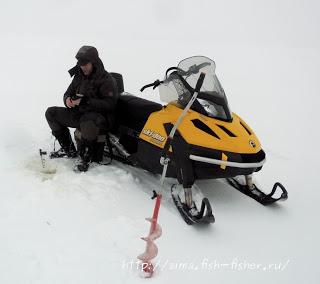 Зимняя рыбалка в январе. Первый выезд на озеро.