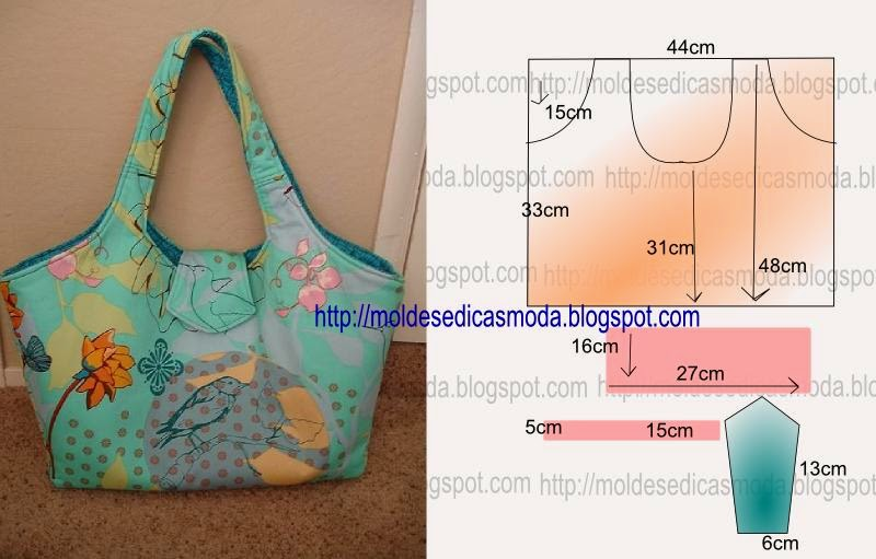 Выкройки летних сумок своими руками из ткани