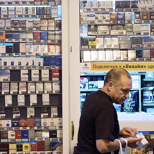 Минпромторг назвал избыточным предложение о запрете продажи сигарет в магазинах площадью менее 50 кв.м.