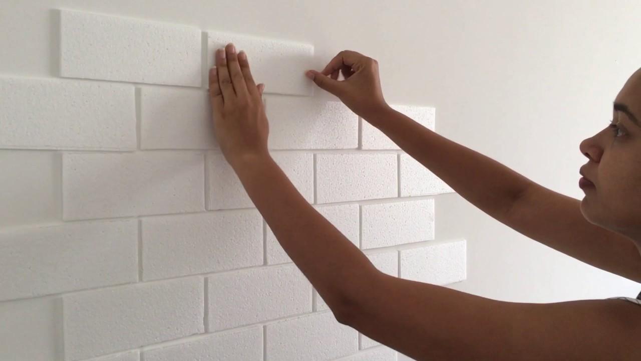 Картинки по запросу ecorando parede com ISOPOR l Paloma Cipriano