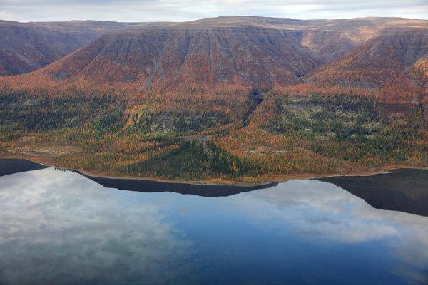 Плато Путорана - уникальный ландшафт и живописная природа Восточной Сибири, России и мира