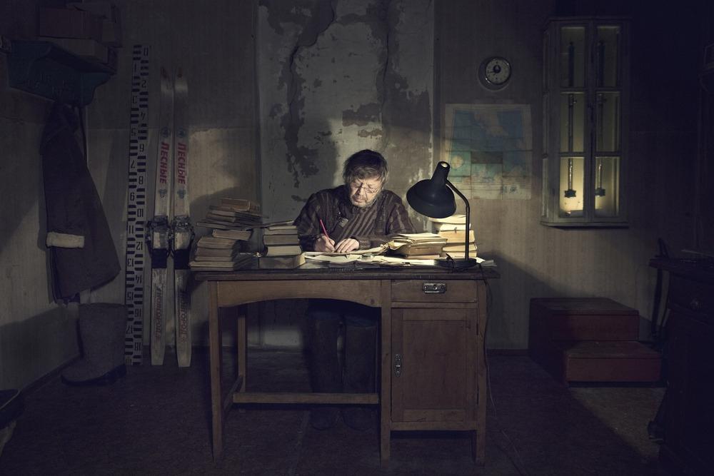 Самый одинокий человек наЗемле жизнь, одиночество, профессия, северный полюс, человек