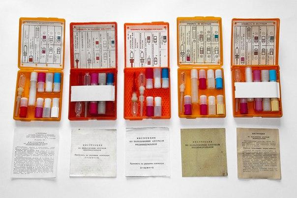 Индивидуальная аптечка: радиопротекторы