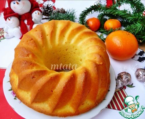 Апельсиновый витаминный кекс