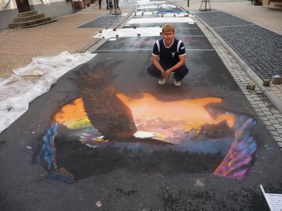 3D Street Art Николая Арндта