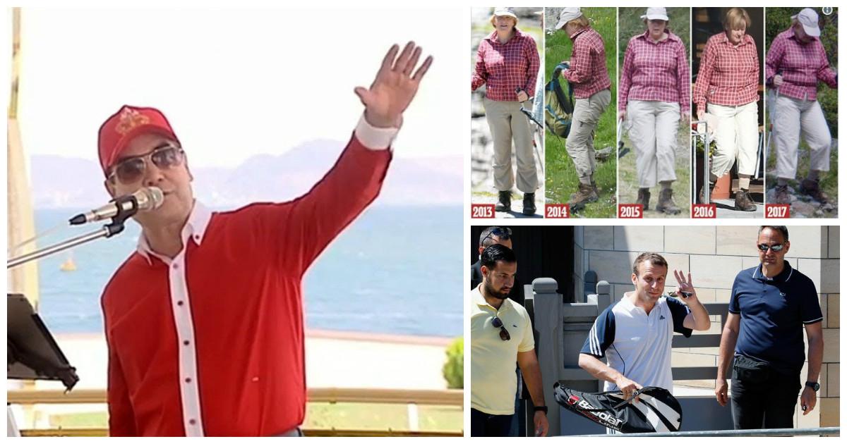 Как проводят каникулы другие лидеры стран, если президент Туркменистана в отпуске подался в рэперы