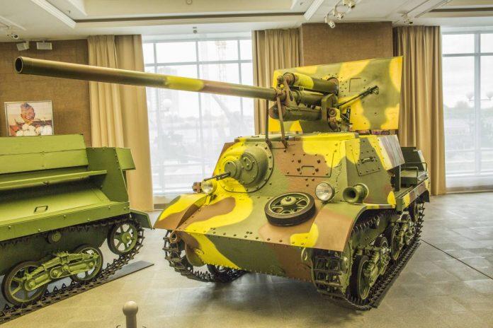 Рассказы о вооружении: самоходное орудие ЗиС-30