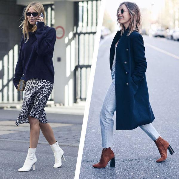 С чем носить модные осенние ботинки: семь крутых образов для женщин старше 40.