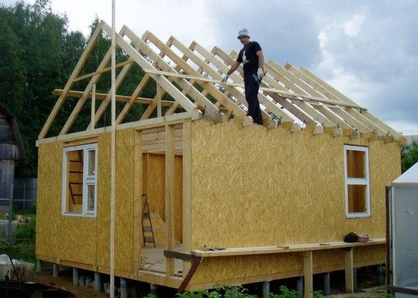 Строительство дома своими руками поэтапно