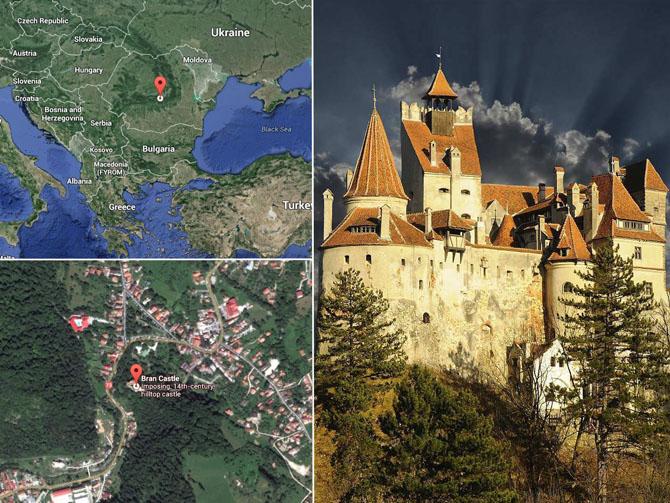 Экскурсия по знаменитому замку Дракулы