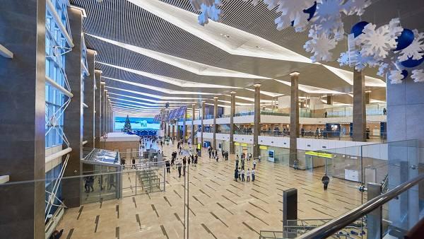 Александр Усс: Красноярский аэропорт – самый изящный в России