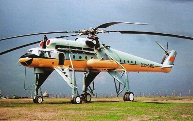 Ми-10 – военный летающий кран