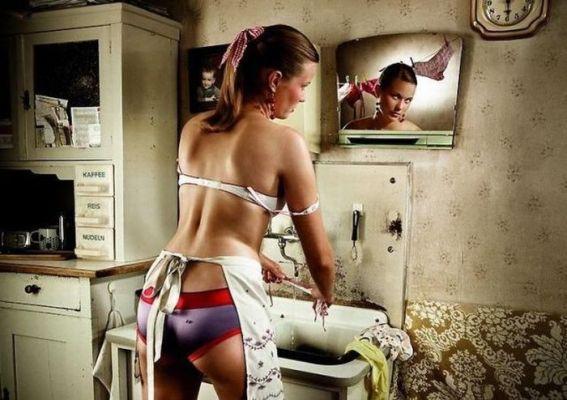 Женщина-лошадь. На работе выкладывайся, дома – выкладывайся вдвойне