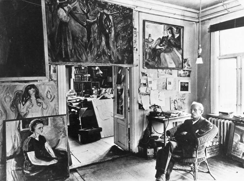 100 знаменитых художников и их мастерские  знаменитость, мастерская, художник