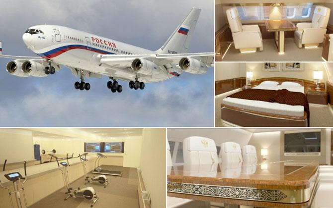 Новый самолет российского президента.