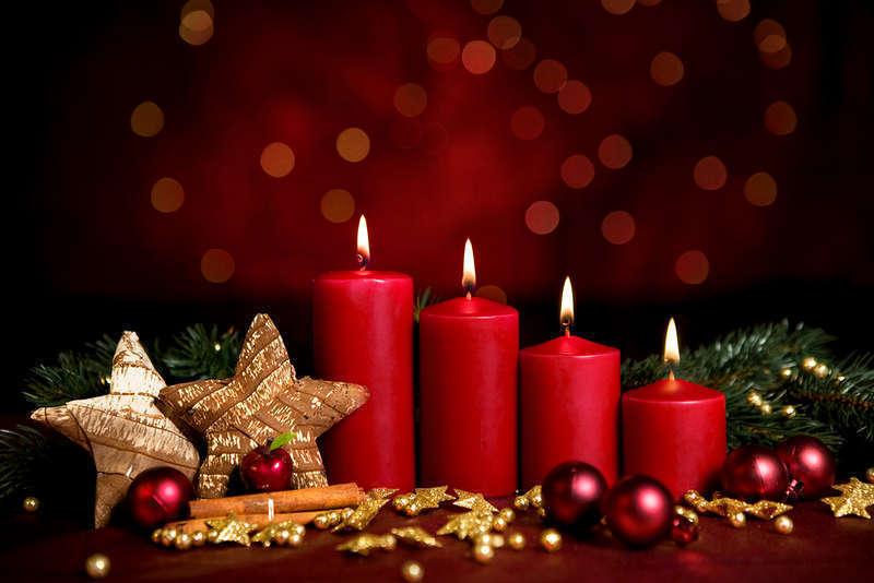 4 advent kerzen