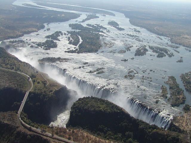 10. Водопад Виктория водопады, красота, природа