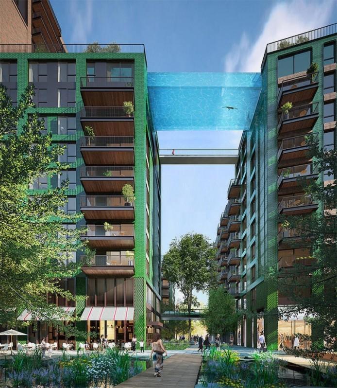 Бассейн в небесах от HAL architects