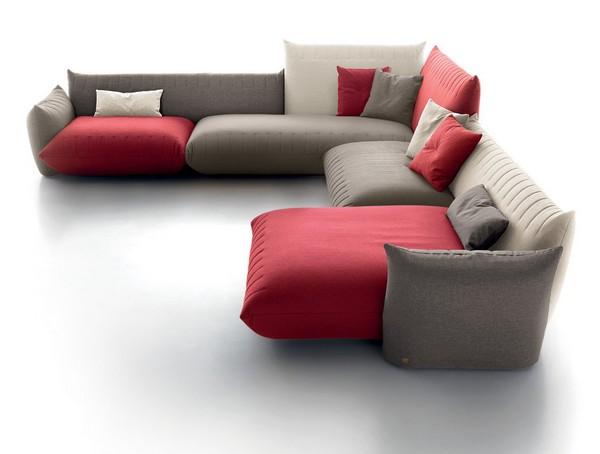 Бескаркасный диванчик