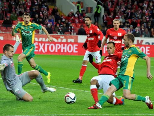 Три штанги и промах Алмейды на последней минуте помогли «Спартаку» сыграть вничью с «Кубанью»