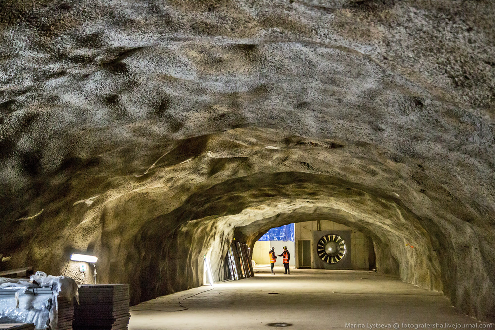 Как финны метро строят
