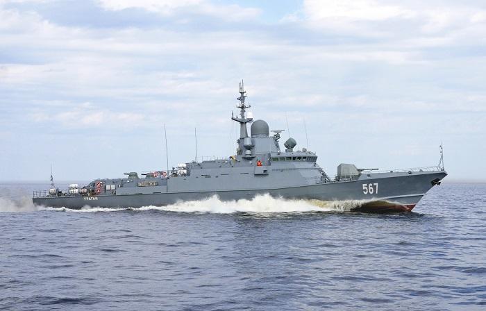 Проектирование и строительство малых ракетных кораблей проекта 22800
