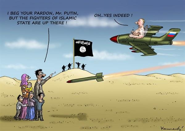 Попытка ИГИЛ сбить русский и…