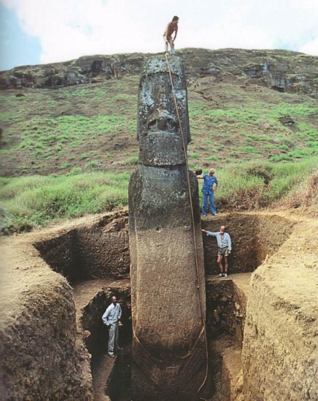 А вы знаете, что скрывают под собой загадочные головы острова Пасха? Не так все просто, оказывается...