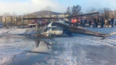 В результате жесткой посадки вертолета Ми-2 на Камчатке погиб человек