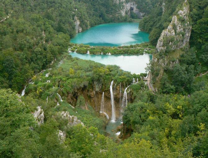 Национальный парк «Плитвицкие озера» (Хорватия)