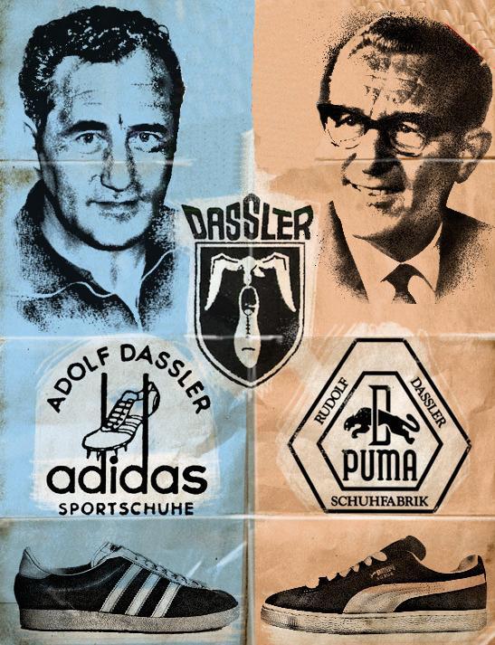 Adidas против Puma
