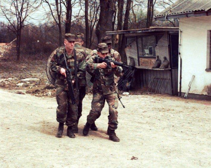 США — неизвестные участники чеченской войны