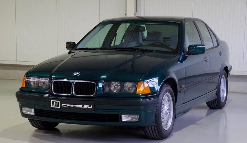 Капсула времени: BMW 320i E36 1995-го года с пробегом 410 км