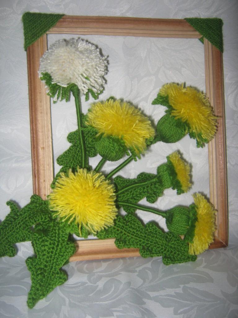 Поделка цветов в садик