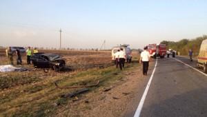 Авария дня 2099. В Выселковском районе погибли трое взрослых и ребенок