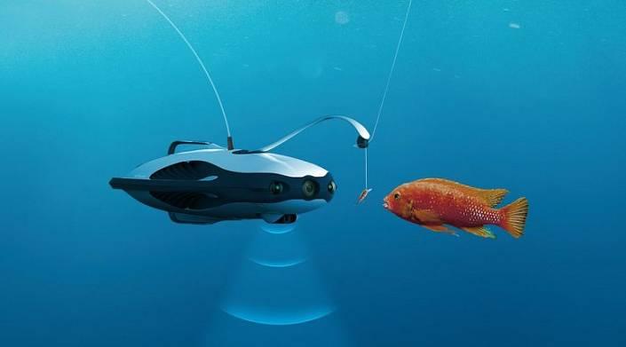 PowerRay – подводный рыбацкий дрон