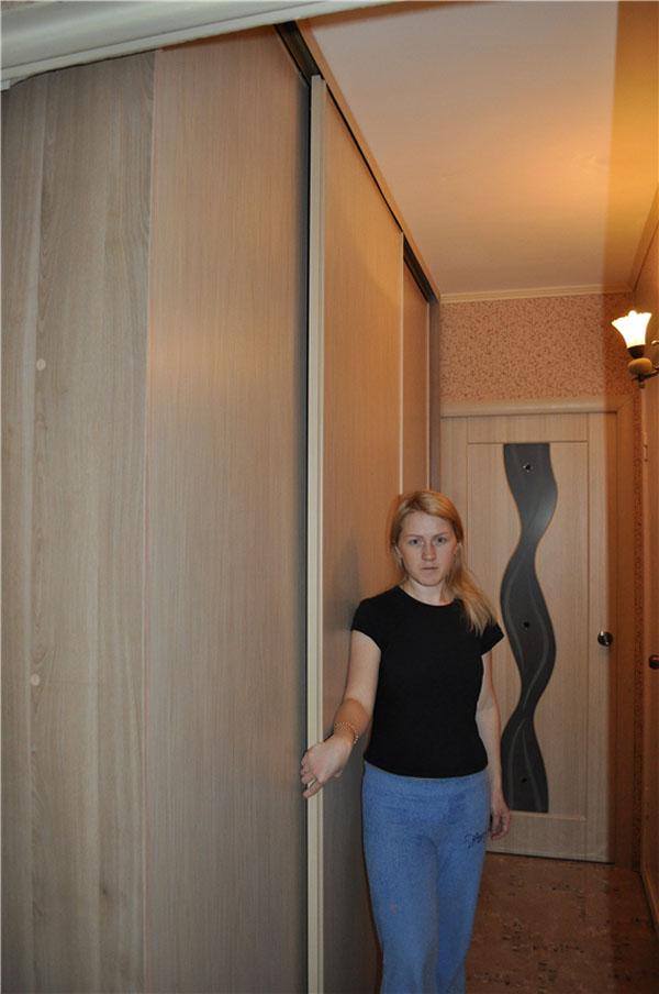 Шкаф-купе от Екатерины Захаровой