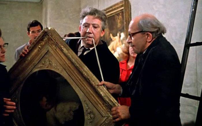 Без бронированного стекла облить картину Рембрандта было несложно./Фото: phototass2.cdnvideo.ru