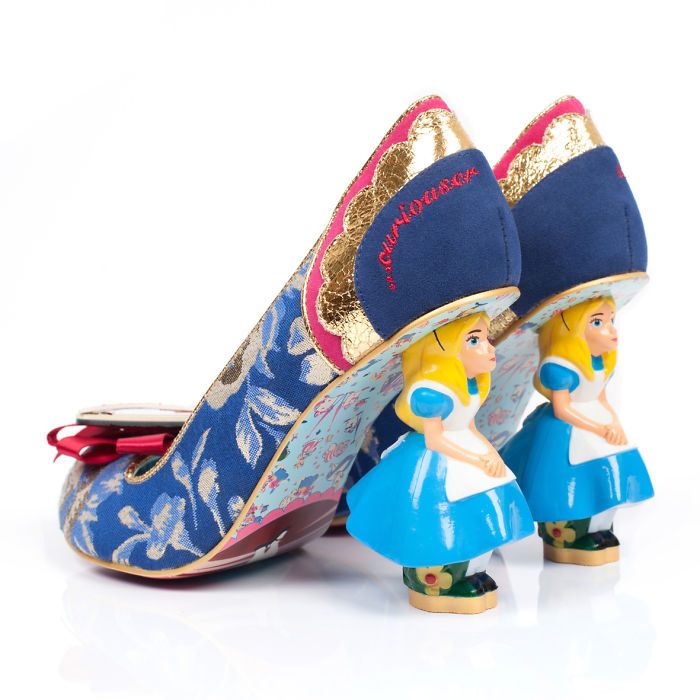 Alice In Wonderland Inspired Us To Create These Shoes