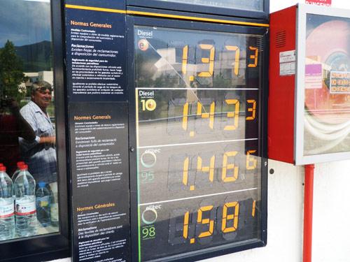 1,5 Евро за литр?  «Роснефть» предупредила о росте цен на топливо из-за налогового маневра