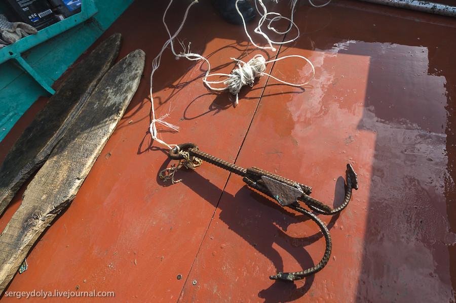Как сделать косу на рыбалку 797
