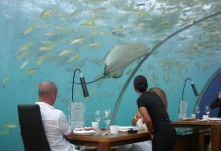 Подводный отель на Фиджи