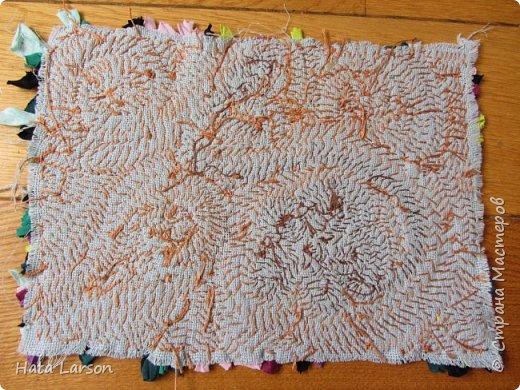 Мастер-класс Поделка изделие Вышивка Вышивание бу футболками Бисер Канва Нитки Ткань фото 17