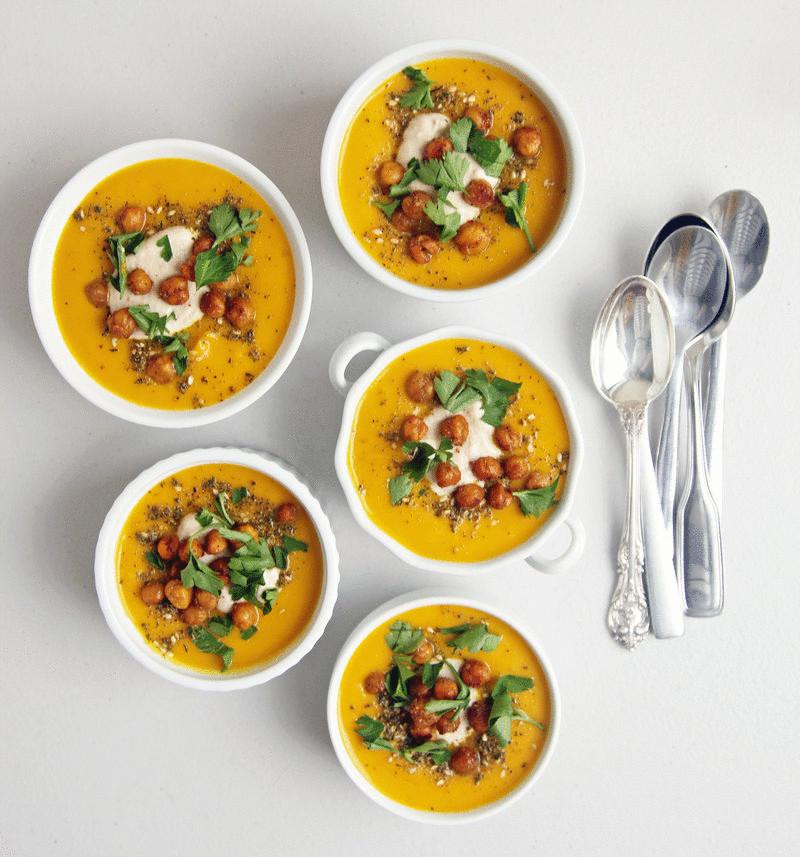 Вегетарианские супы— 5 рецептов