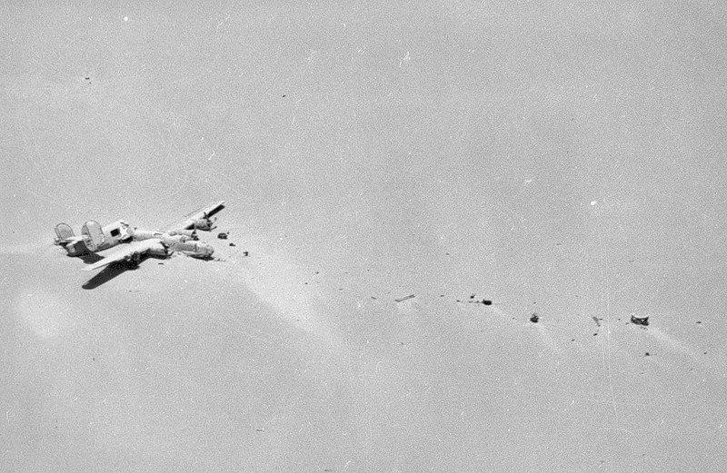 Рассказ о потерянном бомбардировщике и невероятной жажде жизни